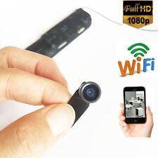DIY 140 degree 1080P HD wireless IP WIFI hidden spy camera mini camera DVR+32GB