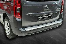 Ladekantenschutz Toyota Proace City Verso ABS Alu-Look gebürstet bumper
