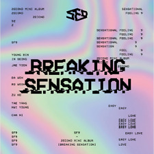 "K-POP SF9 2ND MINI ALBUM ""Breaking Sensation"" [1PHOTOBOOK+CD]"