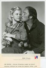 MELISSA MICHAELSEN CUTE WITH DAD JOE SANTOS PORTRAIT ME & MAXX 1980 NBC TV PHOTO