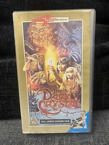 The Dark Crystal VHS 4 Front Video