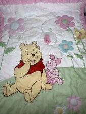 Disney Classic Winnie Pooh Friend Piglet 7 Piece Crib Bed Set