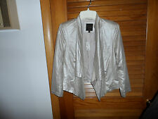 Ladies gold metallic bolero swing jacket size XS from The Limited NWT