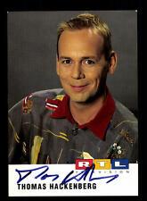 Thomas Hackenberg RTL Autogrammkarte Original Signiert # BC 82002
