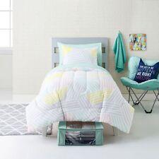 Simple By Design Scandi Pop 8-piece Comforter Set Dorm Kit Twin XL reversable