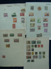IRAQ AFGHANISTAN ETC Stamp Collection Incl Oldtime Used on Loose Album Leaves