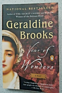 2002 YEAR OF WONDERS by Geraldine Brooks ~ 1766 London plague village life PB