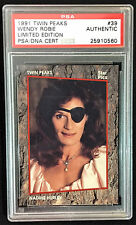 1991 Star Pics Twin Peaks # 39 Wendy Robie Nadine Hurley PSA DNA Authentic Auto