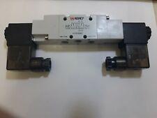 1/8 Bsp 5/2 Ventil, Zwei Position Ventil, Sol-Sol 24v Dc Spule & LED Stecker