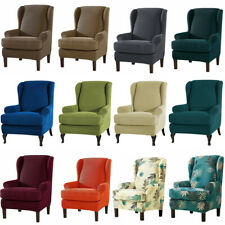 Stretch Fit Furniture Protector Wingback Slipcover Wing Chair Covers Recliner