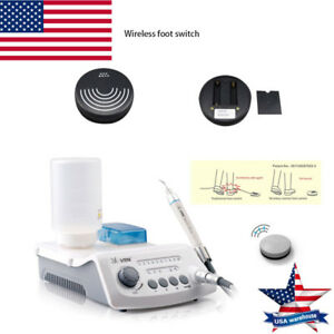 VRN VRN-A8 Dental Ultrasonic Scaler Wireless With LED Detachable Handpiece+5Tips