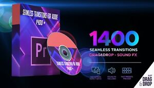 PREMIERE PRO SEAMLESS TRANSITIONS FOR ADOBE 1400+