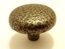"Amerock Shenandoah BP710-HBZ 1 1/4"" Hammered Bronze Round Cabinet Knob"