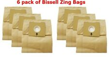 Bissell Type 2138425 Vacuum Bags Micro Lined Allergen 4122 Zing Canister Vac 6pk