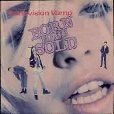 "TRANSVISION VAMP Born To Be Sold  7"" Ps, 3 Tracks Inc Down On You-Live+Last Time"