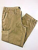 Eddie Bauer Brown Cargo Capri Women's Pants 2. 28x24