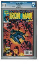 Iron Man #v3 #11 (1998) Marvel Comics CGC 9.8 White Pages ZZ292