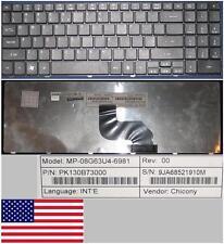 Clavier Qwerty US ACER Aspire AS5532 MP-08G63U4-6981 PK160B73000 9JA68521910M