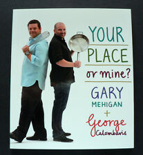 Gary Mehigan George C - Your Place or Mine? - Taste Mini Cookbook Collection