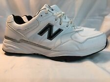 New Balance NBG1701WK White/Black Golf Shoes Mens 15 Waterproof pre-owned