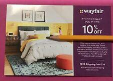 WAYFAIR Coupon Code EXTRA 10% OFF First Order Exp 01/31/21 Furniture Home Garden