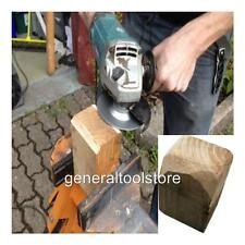 """WOOD CARVING SHAPING DISC FOR 4 1/2"""" 115 MM ANGLE GRINDERS TCT BLADE"""