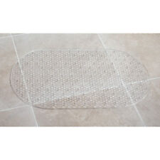 Beldray Textured Bath Mat Slip Resistant 69cm x 39cm Clear Bathroom Matt NEW