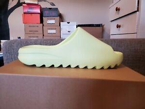 Size 12 - Adidas Yeezy Slide Glow Green GX6138
