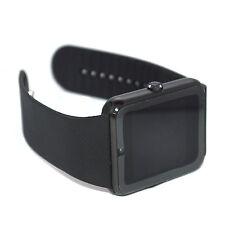 Fashion Men's Black Sport Smart wirst watch For Samsung Galaxy S7 S6 S5 Note 5 4