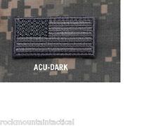 "Morale Patch Milspec Monkey Msm Mini - American Usa Us Flag - 2"" x 1"" - Acu-Dark"