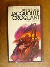 Collection 1000 soleils LE ROY Jacquou le croquant 1977 Gallimard