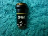 ZEISS 10x/0.22 160 /-  Microscope Objective Lens