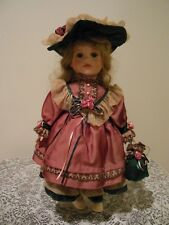 "Madison Lee Limited Edition  - "" No. 251/4950""  16 inch Porcelain Doll"