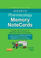 Mosby's Pharmacology Memory NoteCards : Visual, Mnemonic, and Memory Aids for...