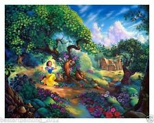 gift<snow white>Disney art painting printed on canvas Modern home decor art12X16