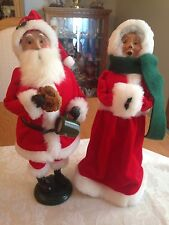 Byers' Choice 2004 Mr and Mrs Claus