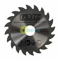 GTS1500 110 x 22.2mm 20T Compact Circular Saw Blade