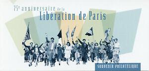 France Stamps 2019 MNH WWII WW2 Liberation Paris Military 1v M/S Phil Souvenir