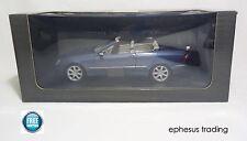 Kyosho Dealer Mercedes CLK 500 Cabrio C209 Cadet Blue w/Gray B66962173 1/18 MINT