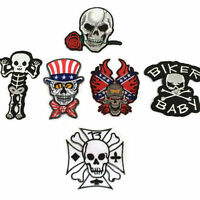 SON OF OUTLAW MC JACKET 35CM IRON ON EMBROIDERED 11 PCS SET