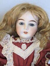 Vintage Gebruder Kuhnlenz Bisque Doll 20 Inch Germany