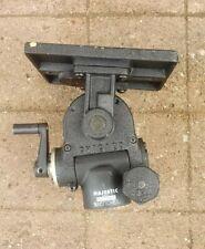 MAJESTIC 1200 model BENCHER HEAVY DUTY Geared Tripod Head 5 3/4 x 7 plate
