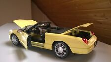 Ford Thunderbird cabriolet 2002-Voiture Miniature 1:18