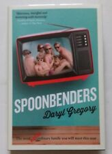 DARYL GREGORY - SPOONBENDERS. SIGNED/STAMPED/LIMITED 89/100. U.K. H/B.