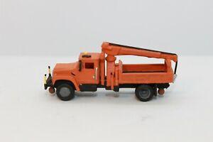 N Scale custom painted 3 D printed MOW Track Repair Truck (Orange)
