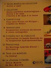 FASCICULE 66 PASSION CITROEN  ACTIVA II 1990