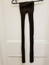NWOT Marks and Spencer Tights Brown Checkered Size Small