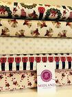 Nutcracker 100% Cotton Christmas Themed Patchwork fabric 44
