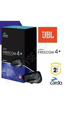 Cardo Scala Freecom 4 + Plus JBL Sound Motorcycle Bluetooth Intercom Headset