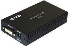 HDMI DVI To HDMI DVI HD Component Video VGA Converter Scaler